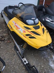 Parting out 2000 Skidoo Summit 700