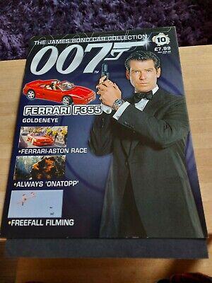 James Bond Car Collection Magazine  - No. 10 - Ferrari F355.