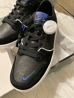Nike SB X Soulland Dunk low shoes black royal FRI.day Men Size 10.5 brand new DS