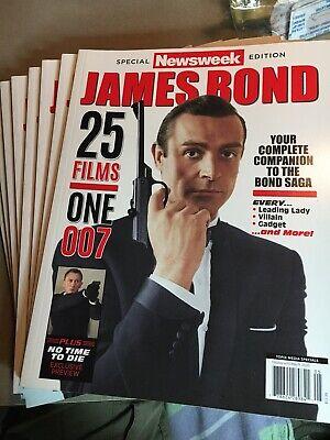 Newsweek Magazine JAMES BOND 007 Define films One 007 No Time To Die Exclusive!