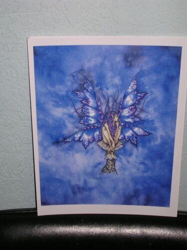 Amy Brown - Blue Faery II - OUT OF PRINT