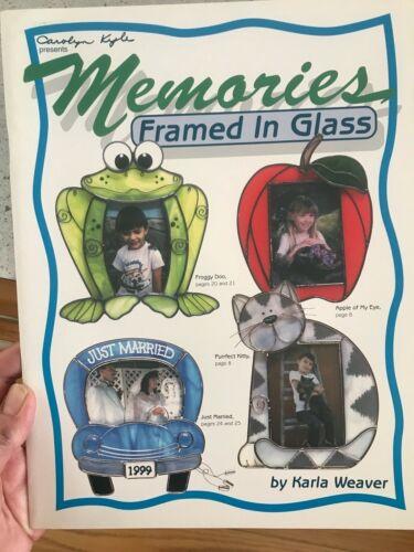 Memories Framed In Glass Pattern Book