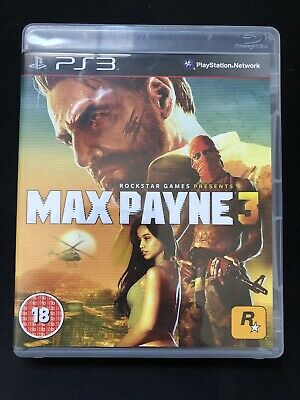 Max Payne 3 Sony PlayStation 3 PS3 game complete , used for sale  Shipping to Nigeria