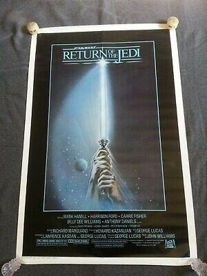 Star Wars Return of the Jedi Original 1983 Rolled One Sheet Poster 27x41, Mint