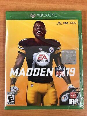 Madden NFL 19 - Standard Edition (Microsoft Xbox One, 2018) BRAND NEW SEALED
