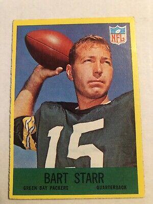 1967 philadelphia #82 Bart Starr green bay packers