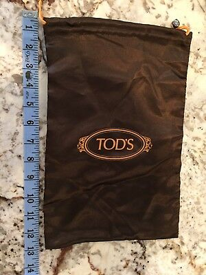 Tod's Satin Brown Dust Bag