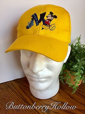 the best attitude 88e9d ea5b1 Mickey Mouse Youth Hat Yellow Disney World SnapBack Adjustable