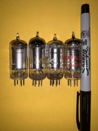 Lot Of 4 Vintage 1R5 Vacuum Tubes Tested On TV-7B/U - $6.95