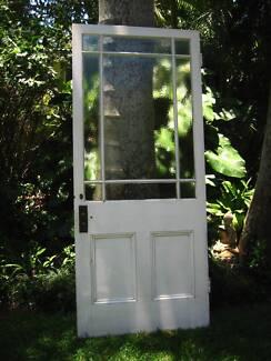 Beautiful, heavy, solid timber entrance door