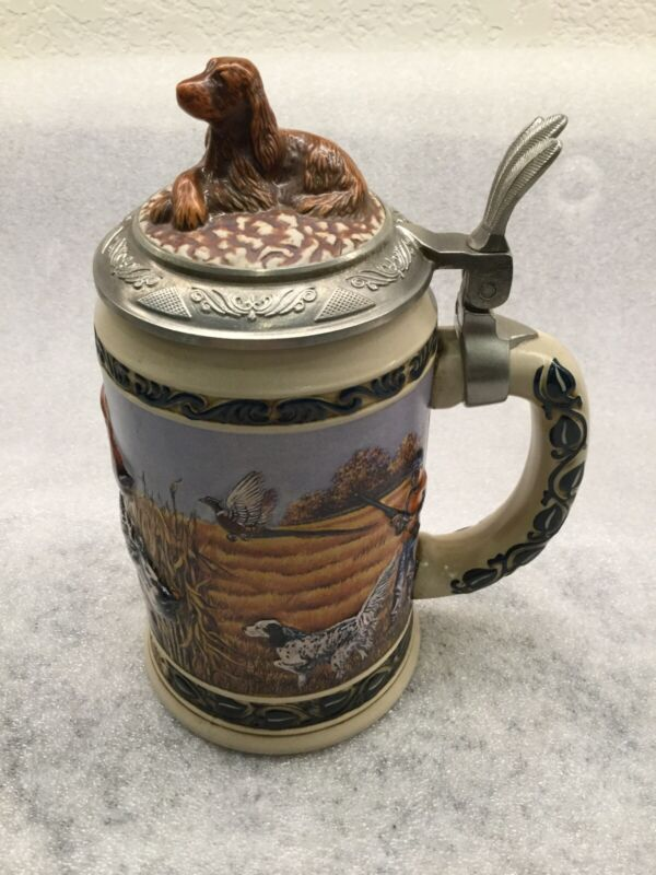 Budweiser Limited Edition Collector Beer Stein Hunter