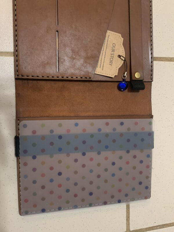 Galen Leather Cover Handmade Hobonichi Cousin