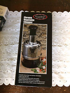 Pro chrome  Vegetable and onion chopper