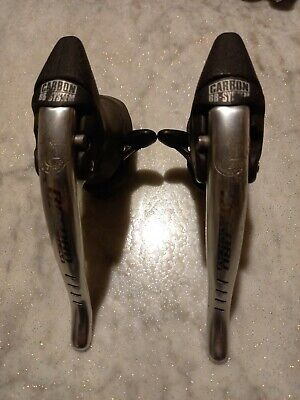 MANETTINI CAMPAGNOLO LEVE CAMBIO VINTAGE SUPER RECORD SHIFTERS LEVERS NOS