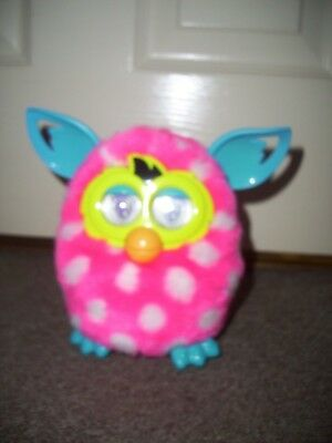 Furby Boom Pink with White Spots. Interactive Pet