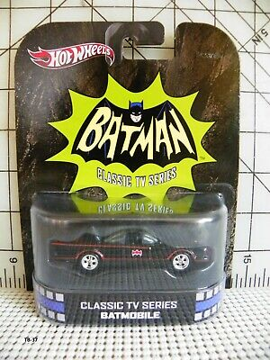 2012 Hot Wheels Batman Classic TV Series Batmobile New