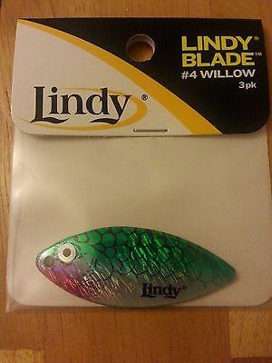 50 Nickel Micro Willow Spinner Bait Blades Size 1 Worth 94821 underspin flutter