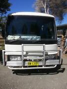 Motorhome Nissan civilian, 1996 model, licenced to seat 4, Mulbring Cessnock Area Preview