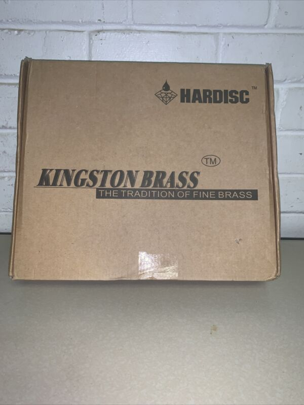 Kingston Brass KS1246AX Heritage 8 in. Wall Mount Kitchen Faucet, Polished Ni...