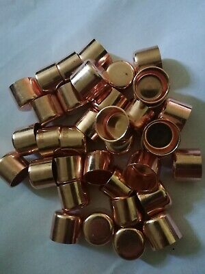 6 Pcs 12 Copper Cap Sweat Solder Joint