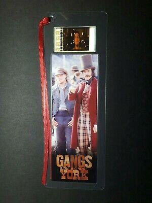 GANGS OF NEW YORK Movie Film Cell Bookmark - complements movie poster