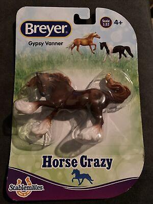 BREYER STABLEMATE 2020 Walmart Horse Crazy Surprise - Chestnut Gypsy Vanner