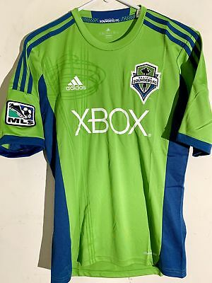 97f2fd27b Adidas MLS Jersey Seattle Sounders Team Green sz S