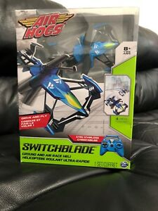 Air Hogs Switchblade- ground and air race helicopter