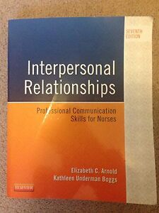 Interpersonal Relationships 7th Ed.