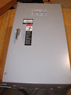 New Nos Emerson Asco 300 Series 104a 480vac 3ph Automatic Transfer Switch