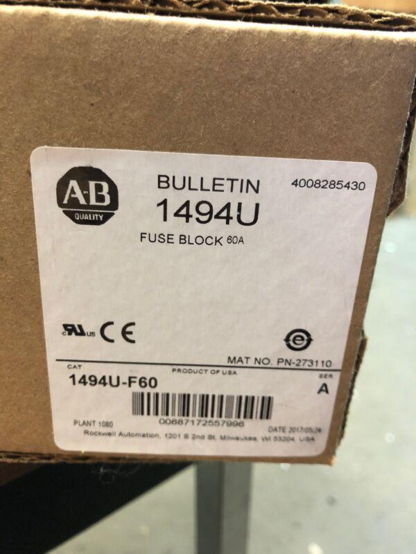 A-B Fuse Block 1494U-F60