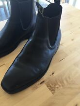 Near new Thomas Cook Trentham leather boots black Bulimba Brisbane South East Preview