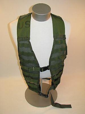 3 Military USGI Molle Woodland Camouflage BDU Fighting Load-Carrier FLC Vest