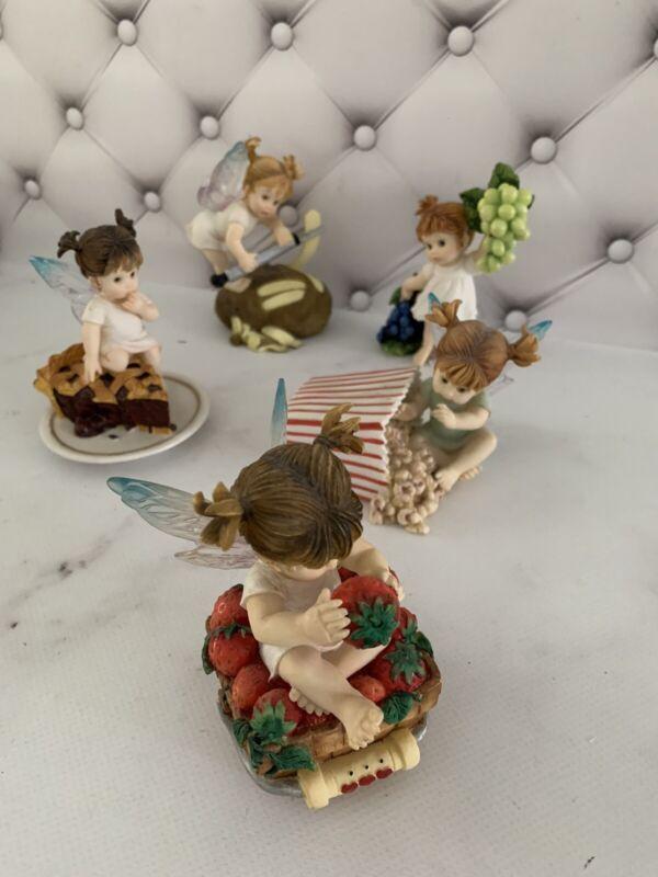My Little Kitchen Fairies 2001-2003 Collection 5 figurines