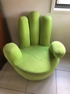 Swivel Green Hand Chair (Adult Size)