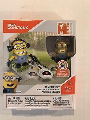 Despicable Me MEGA CONSTRUX 16 PCS Minion Puppy Minions Lego Rare HTF Toy Kids](Despicable Me Puppy)