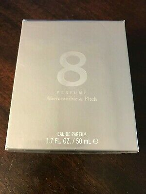 A&F Abercrombie & Fitch 8 Women Perfume 1.7 oz 50 ml New Sealed parfum fragrance