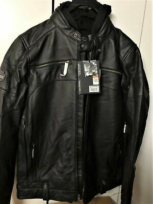 ⭐Harley-Davidson Men's Swingarm 3-in-1 Leather Jacket 98045-19VT TALL X-LARGE