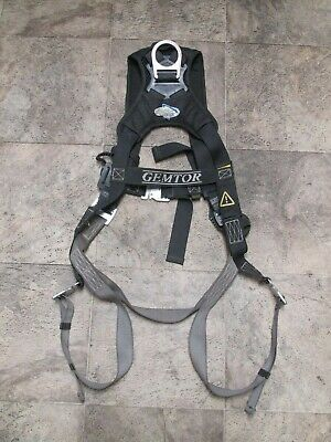 Gemtor Airflo 942x-2 Universal Full Body Quick Connect D-ring Safety Harness