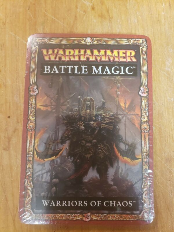 Warhammer Fantasy Battle Magic Cards - Warriors of Chaos (Warriers)