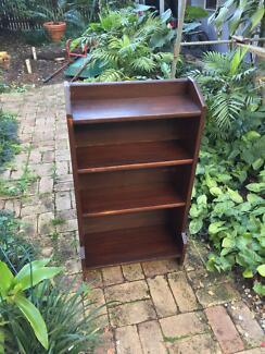 Small Antique Wooden Bookshelf