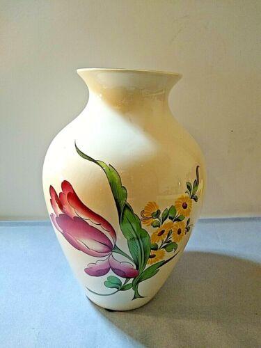 """Spode Marlborough Sprays Vase 10"""" tall"""