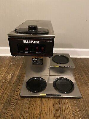 Bunn Vp17-3 Commercial Restaurant Pour-over Coffee Brewer 3 Lower Warmer Pot Nsf