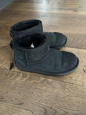 UGG Boots Mädchen Jungs Kinder • Mini • Gr. 34 • Schwarz