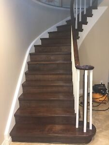 Stairs Recapping and Refinishing /Call 365 773 3891