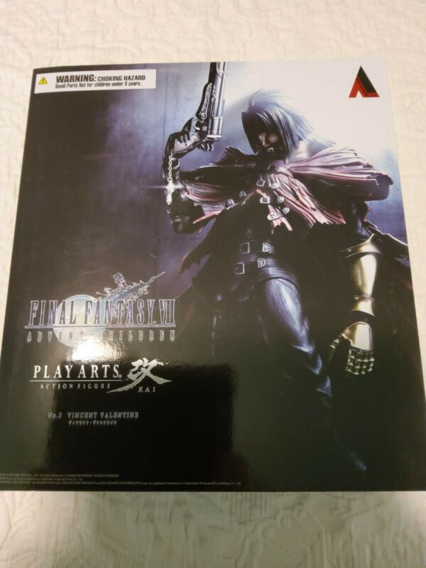 Square Enix Play Arts Kai Final Fantasy 7 Advent Children Vincent