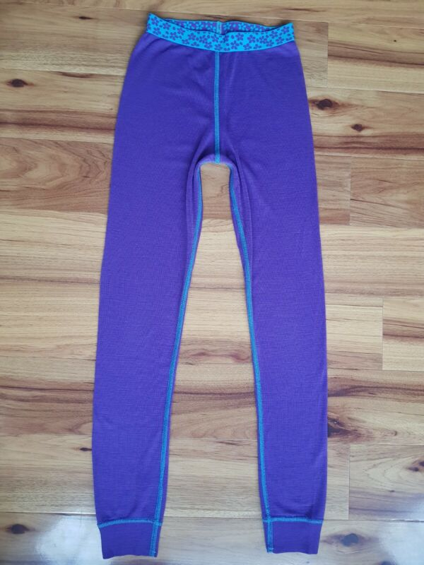 Cubus Thermal 100% Merino wool Baselayer Leggings Size 134/140 or 9-10 Years