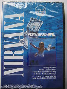 Nirvana Nevermind (DVD, 2005) NEW SEALED PAL Region 2