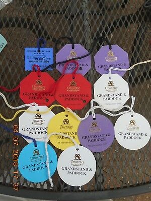 UTTOXETER RACES DAY BADGES/TRANSFERS x 12.