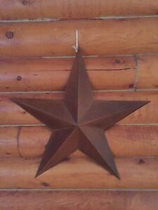 Metal primitive star and decor otems